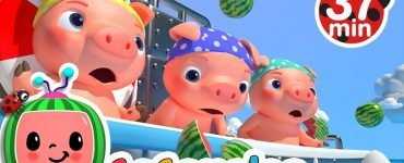 three little pigs cocomelon