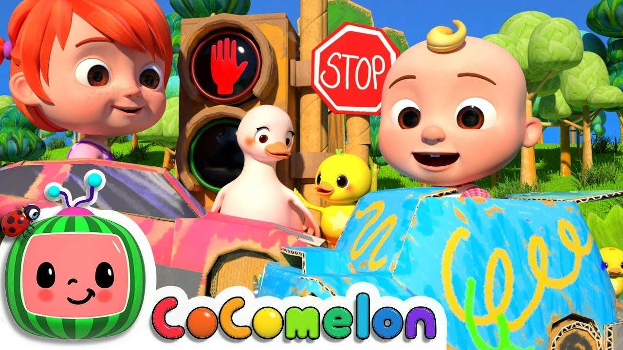 Traffic Safety Song Cocomelon Nursery Rhymes Kids Songs