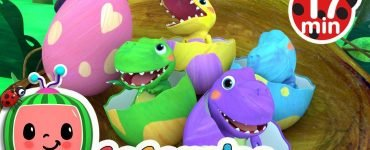 Dinosaur songs cocomelon nursery rhymes & kids songs