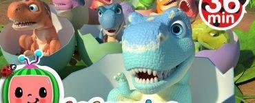 Ten little dinos Cocomelon nursery rhymes & kids songs