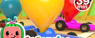 Toy Balloon Car Race Cocomelon Tv