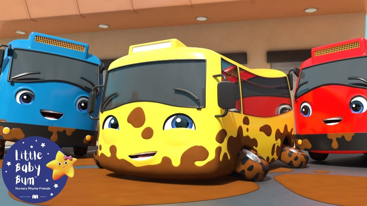 Carwash Song More Nursery Rhymes Kids Songs Baby Songs Learn With Little Baby Bum Thetubekids