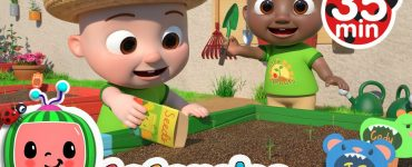 Gardening Song Cocomelon - Nursery Rhymes
