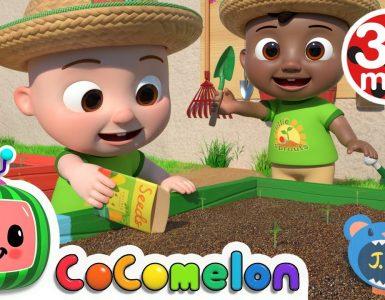 Gardening Song Cocomelon - Nursery Rhymes