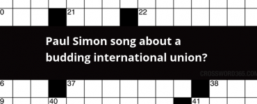 Paul Simon song about a budding international union