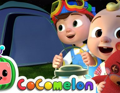 Yes yes bedtime camping song cocomelon