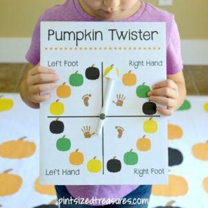 DIY Halloween Version of Twister
