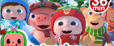 Christmas Songs For Kids + More Nursery Rhymes & Kids Songs - CoComelon