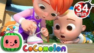 Learnto tie your shoes Cocomelon Nursery Rhymes