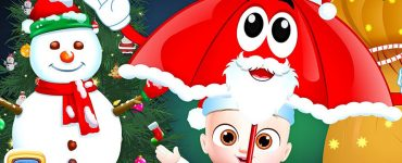 Christmas Rain Rain Go Away Song - ChuChu TV