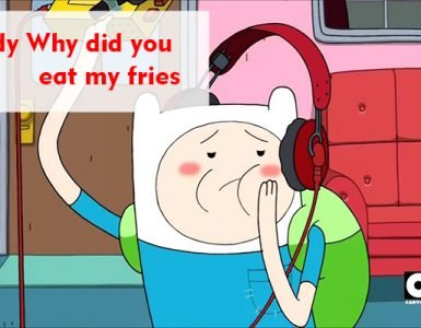 Daddy Why did you eat my fries - Adventure Fries lyrics