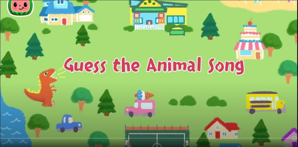 Guess the animals Song Cocomelon Nursery Rhymes