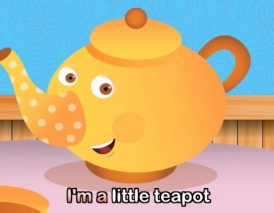 Im A Little TeaPot Nursery Rhyme