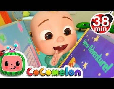 Reading song cocomelon nursery rhymes and kids song with lyrics