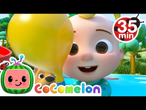 Balloon Race Best cocomelon song