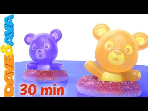 Five Little Gummy Bears - Counting Songs
