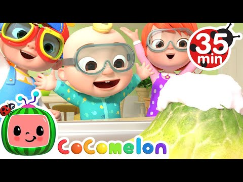 Floor is lava song with lyrics - Cocomelon