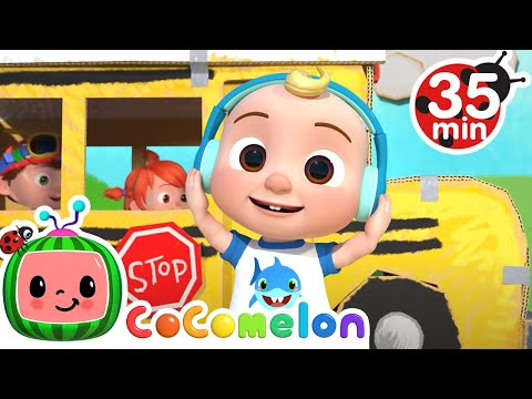 Wheels on the bus Play Version - Cocomelon Nurseyr Rhymes