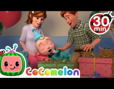 Night Before Birthday Song Cocomelon