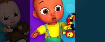 Boo boo song with toys chuchu tv classics