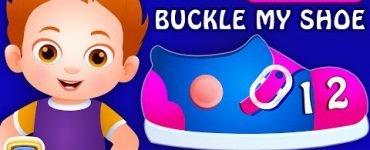 One two buckle My Shoe Chuchu TV Nursery Rhyme