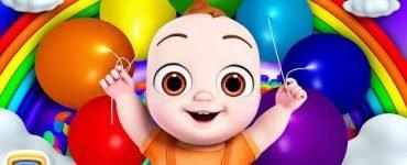 The rainbow party song - Chuchu TV Nursery Rhymes