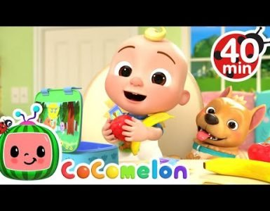 Time to go song cocomelon nursery rhymes