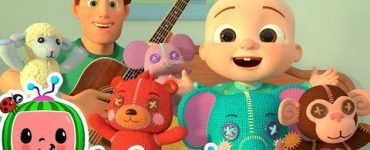 Five Little Animals Song Cocomelon Lyrics