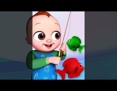 Let's Go Fishing Song - Chuchu TV Nursery Rhymes