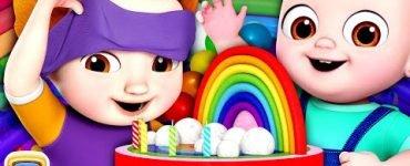 The Rainbow Cake Chuchu TV Nursery Rhymes